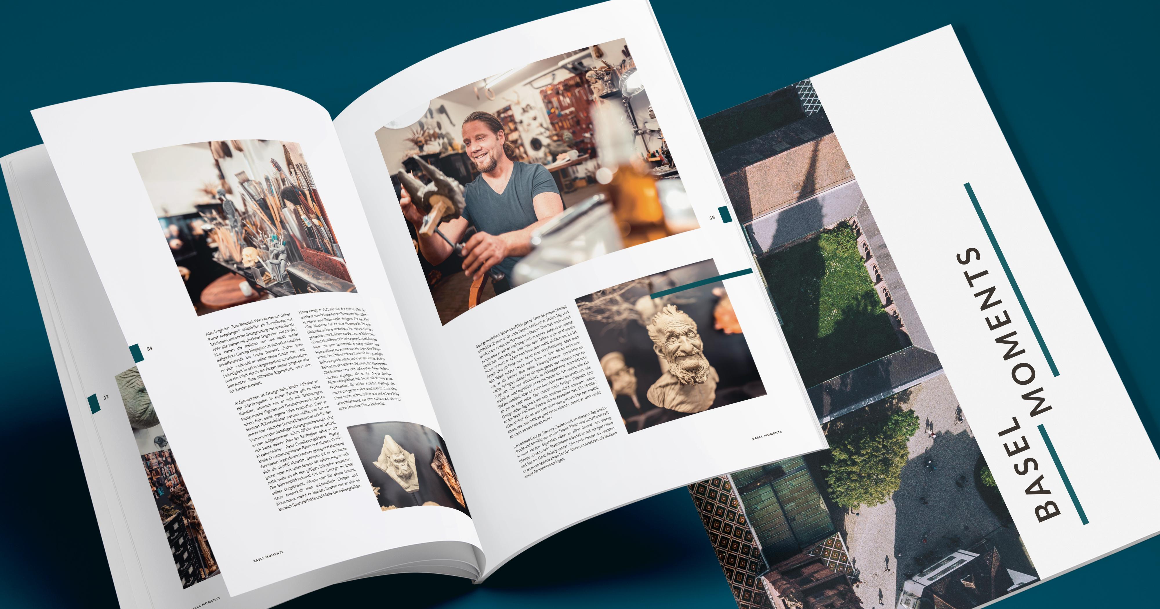 LoveYourCity Magazin «Basel Moments»